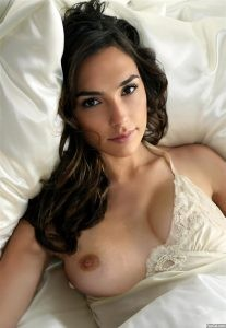 Gal Gadot Topless Showing a nipple