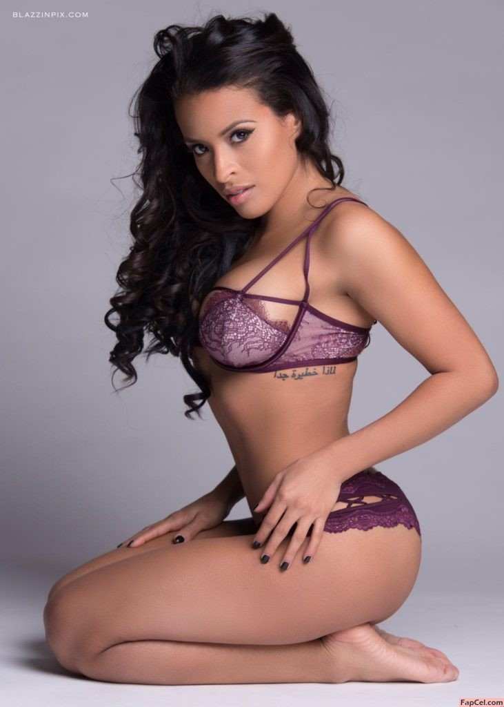 Zelina Vega Photo shoot in Underwear